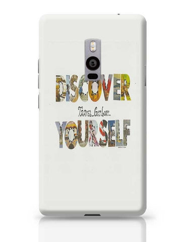 Discover yourself OnePlus Two Covers Cases Online India