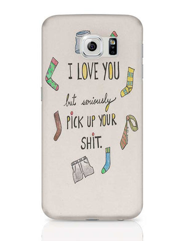 I love you  Samsung Galaxy S6 Covers Cases Online India