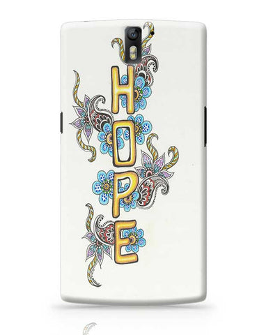 HOPE OnePlus One Covers Cases Online India