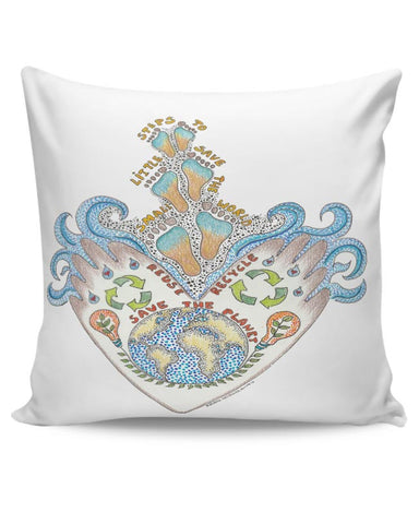 save our planet  Cushion Cover Online India