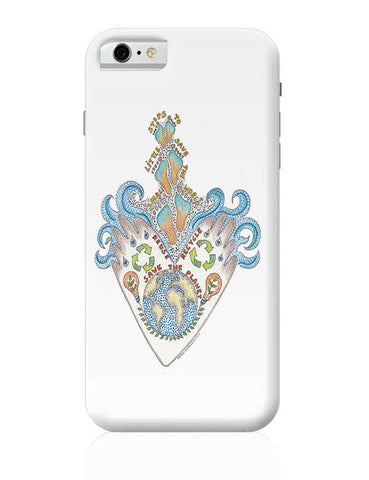 save our planet  iPhone 6 6S Covers Cases Online India