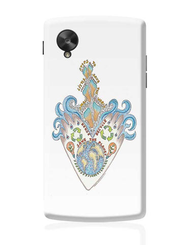 save our planet  Google Nexus 5 Covers Cases Online India