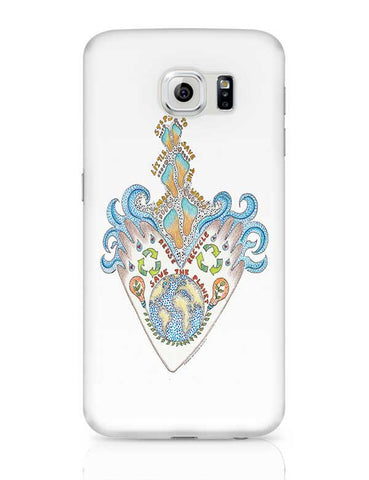save our planet  Samsung Galaxy S6 Covers Cases Online India