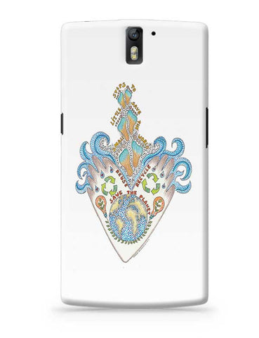 save our planet  OnePlus One Covers Cases Online India