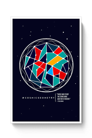 Posters Online | Cosmic Geometry Poster Online India | Designed by: Aju