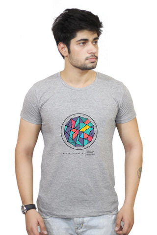 Buy Cosmic Geometry  T-Shirts Online India | Cosmic Geometry  T-Shirt | PosterGuy.in