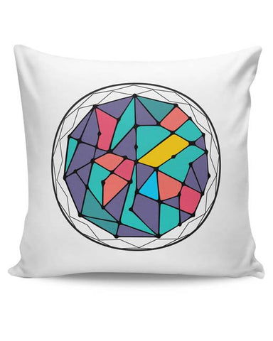 PosterGuy | Cosmic Geometry Cushion Cover Online India