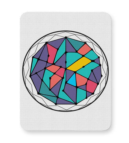 Buy Mousepads Online India | Cosmic Geometry Mouse Pad Online India