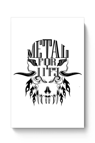 Posters Online | Heavy Metal For Life Poster Online India | Designed by: Karthik
