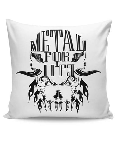 PosterGuy | Heavy Metal For Life Cushion Cover Online India