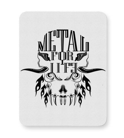 Buy Mousepads Online India | Heavy Metal For Life Mouse Pad Online India