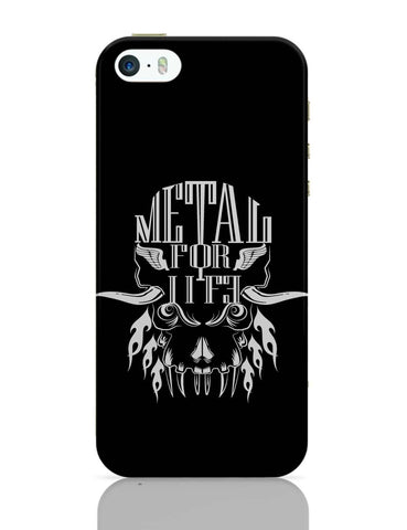 iPhone 5 / 5S Cases & Covers | Heavy Metal For Life iPhone 5 / 5S Case Online India