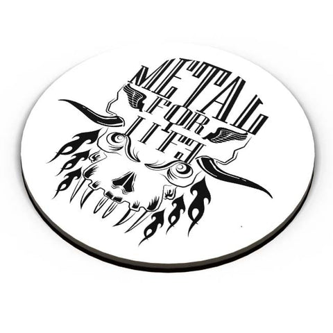 PosterGuy | Heavy Metal For Life Fridge Magnet Online India by Karthik