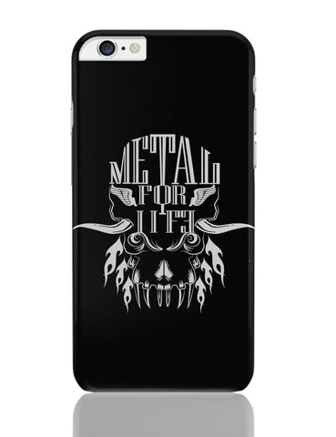 iPhone 6 Plus/iPhone 6S Plus Covers | Heavy Metal For Life iPhone 6 Plus / 6S Plus Covers Online India