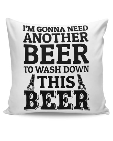 Beer,Food,Drinks,Wine, Cushion Cover Online India
