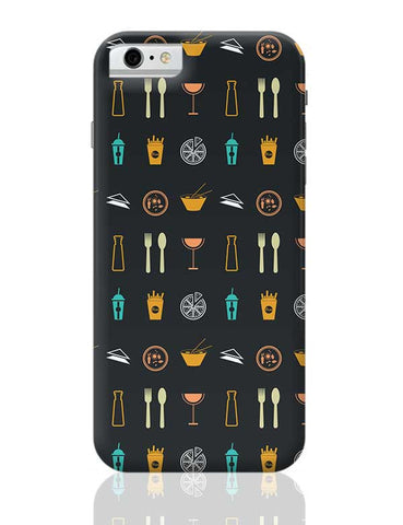 Food,Wine,Fries,Frenchfries,Coke,Chinese,Pizza,Beer,Soup,Cook iPhone 6 / 6S Covers Cases
