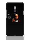 The Godfather Oneplus Two Covers Cases