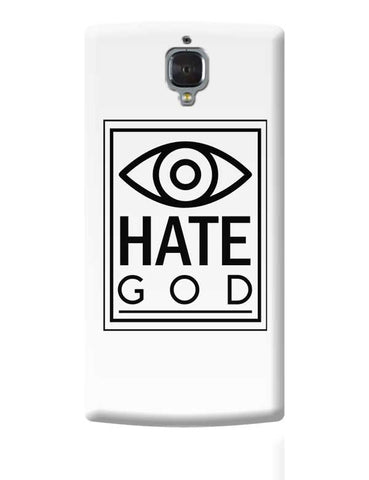 Eye Hate God OnePlus 3 Covers Cases Online India