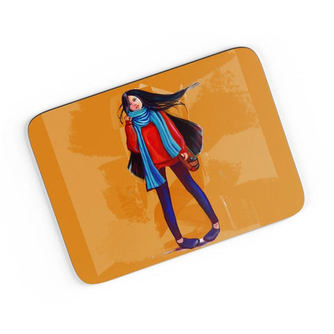 A Winter Girl A4 Mousepad Online India
