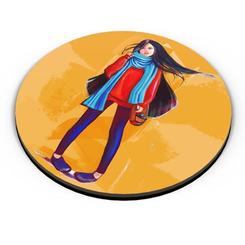 A Winter Girl Fridge Magnet Online India