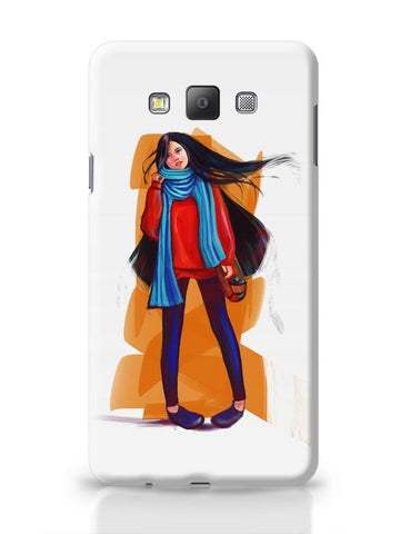 A Winter Girl Samsung Galaxy A7 Covers Cases Online India