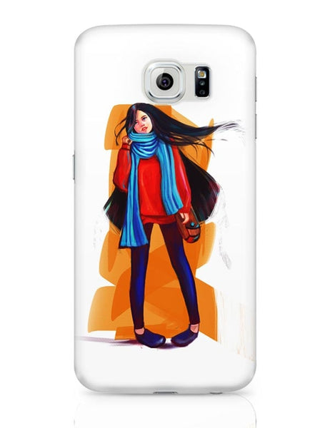 A Winter Girl Samsung Galaxy S6 Covers Cases Online India