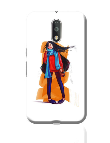 A Winter Girl Moto G4 Plus Online India