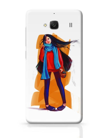 A Winter Girl Redmi 2 / Redmi 2 Prime Covers Cases Online India