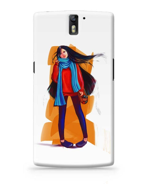 A Winter Girl OnePlus One Covers Cases Online India