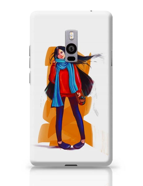 A Winter Girl OnePlus Two Covers Cases Online India