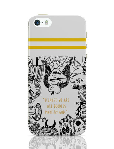 iPhone 5 / 5S Cases & Covers | Doodle By God iPhone 5 / 5S Case Cover Online India