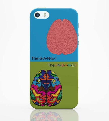 iPhone 5 / 5S Cases & Covers | The Sane & The Insane iPhone 5 / 5S Case Online India