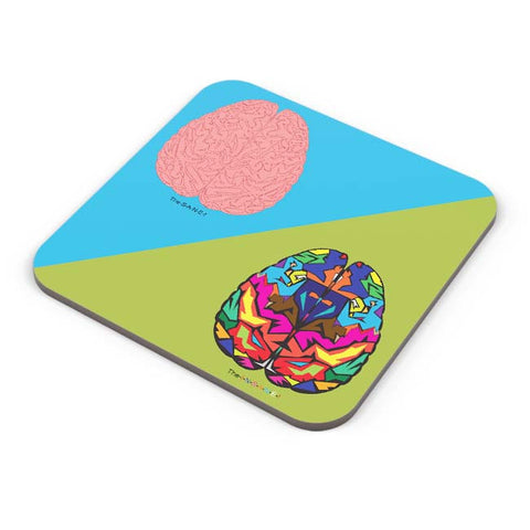 Buy Coasters Online | The Sane & The Insane Coaster Online India | PosterGuy.in