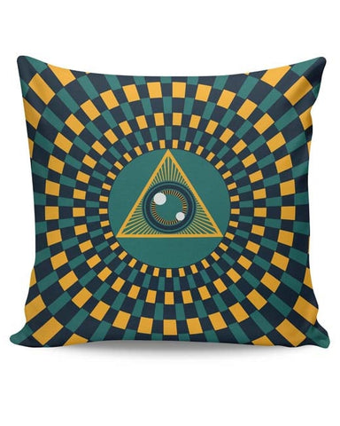PosterGuy | The Eye Of Intuition Cushion Cover Online India