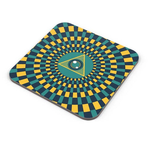 Buy Coasters Online | The Eye Of Intuition Coaster Online India | PosterGuy.in