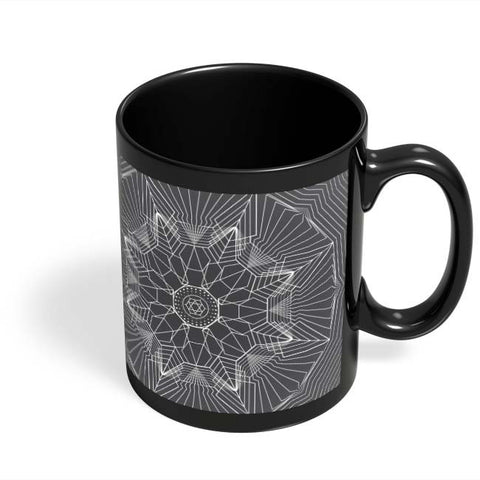 Coffee Mugs Online | Intertwined Black Coffee Mug Online India
