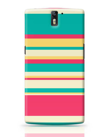 OnePlus One Covers | Love For Stripes OnePlus One Case Cover Online India