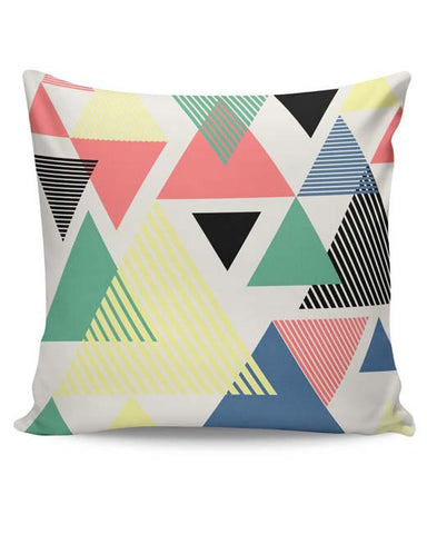PosterGuy | Lovely Triangles Cushion Cover Online India