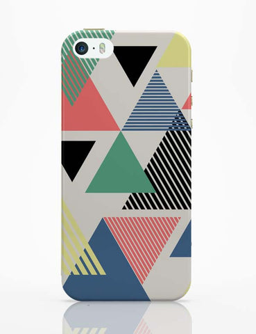 iPhone 5 / 5S Cases & Covers | Lovely Triangles iPhone 5 / 5S Case Cover Online India
