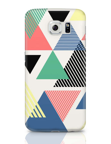 Samsung Galaxy S6 Covers | Lovely Triangles Samsung Galaxy S6 Case Covers Online India