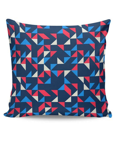 PosterGuy | Playing Triangles Cushion Cover Online India