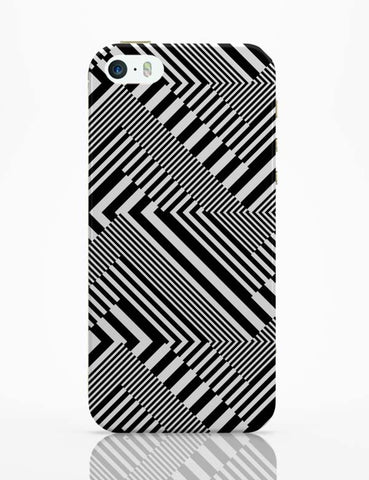 iPhone 5 / 5S Cases & Covers | Monochrome Psyche Delia! iPhone 5 / 5S Case Cover Online India
