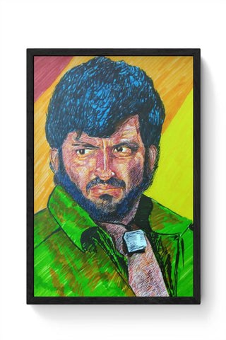 Framed Posters Online India | Gabbar Framed Poster Online India