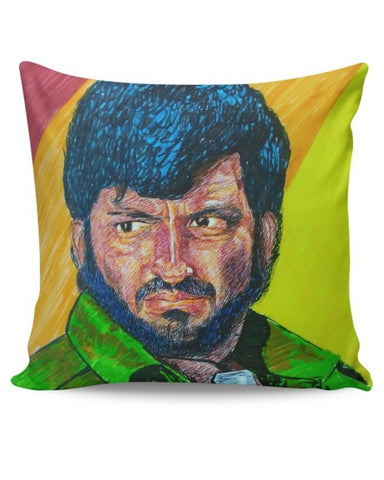 PosterGuy | Gabbar Cushion Cover Online India