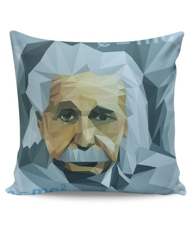 Einstein Low Poly Art Cushion Cover Online India
