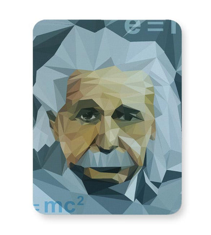 Einstein Low Poly Art Mousepad Online India