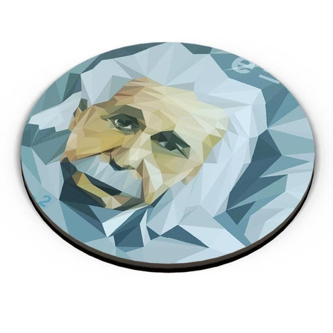 PosterGuy | Einstein Low Poly Art Fridge Magnet Online India by VarTOONS