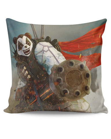 PosterGuy | Angry Panda Cushion Cover Online India