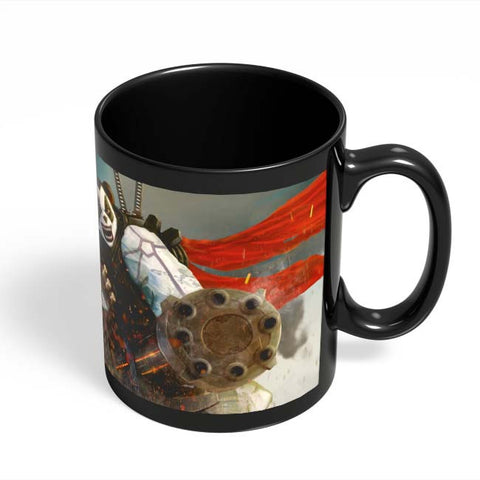 Coffee Mugs Online | Angry Panda Black Coffee Mug Online India