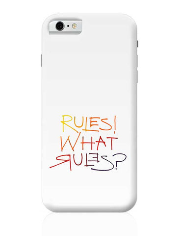 what rules? iPhone 6 / 6S Covers Cases